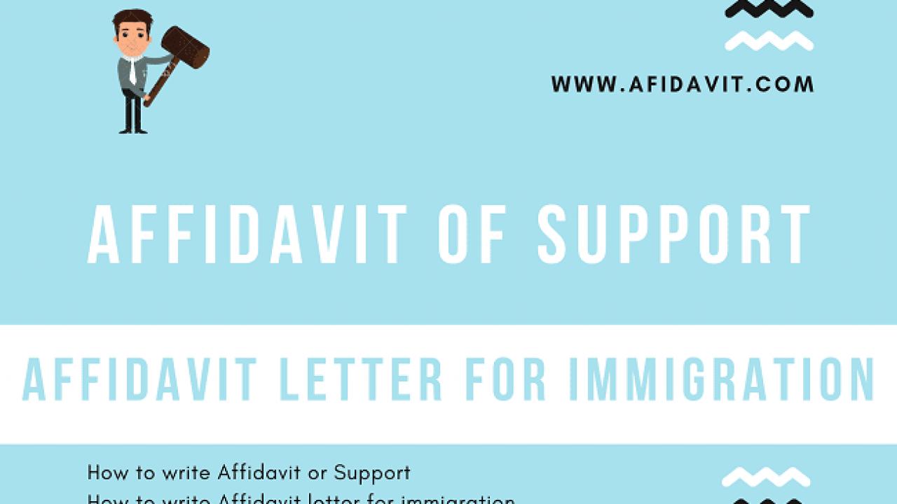 Letter Of Support Immigration from afidavit.com