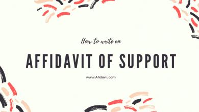 Affidavit of Support: Affidavit of Support forms - Affidavit of