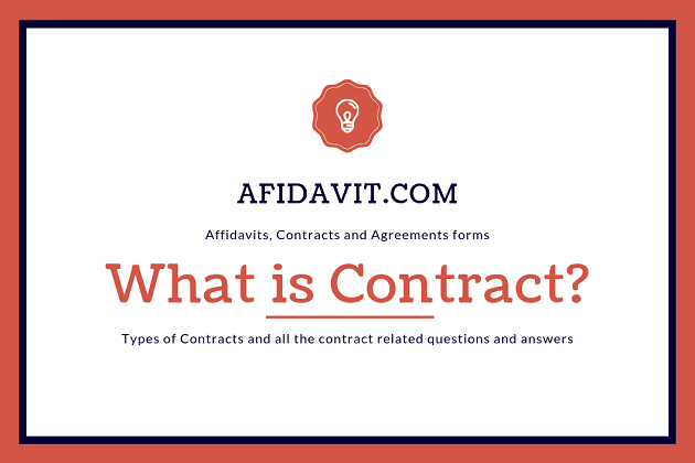 Contract What Is A Contract Contract Vs Agreement Types Of