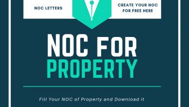 Noc Letter No Objection Certificate Noc Types Noc Template