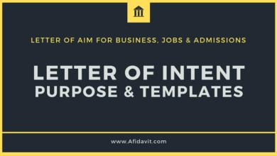 How to Write an Affidavit of Support? - Afidavit