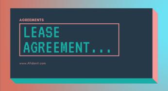 Affidavit of Residence - Residency Affidavit - How to write