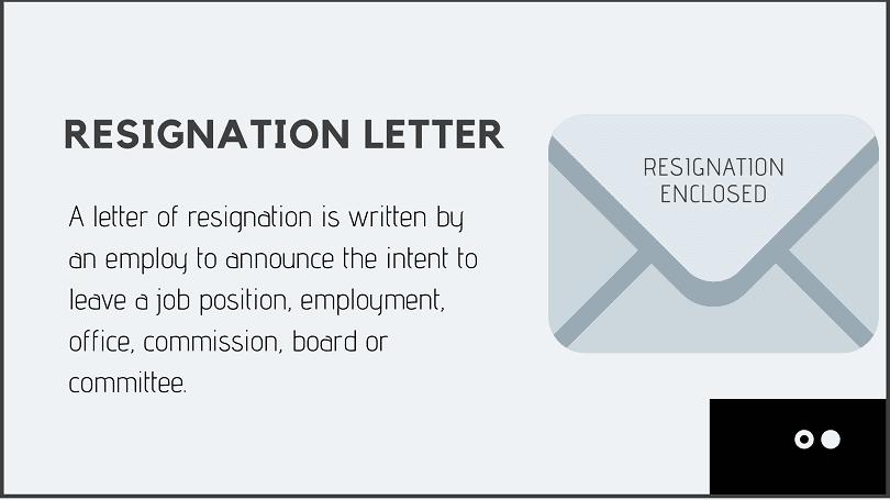 Letter Of Resignation From Board from afidavit.com