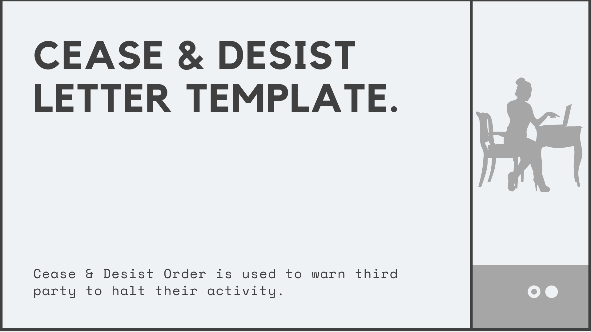 Response To Cease And Desist Letter Template from afidavit.com