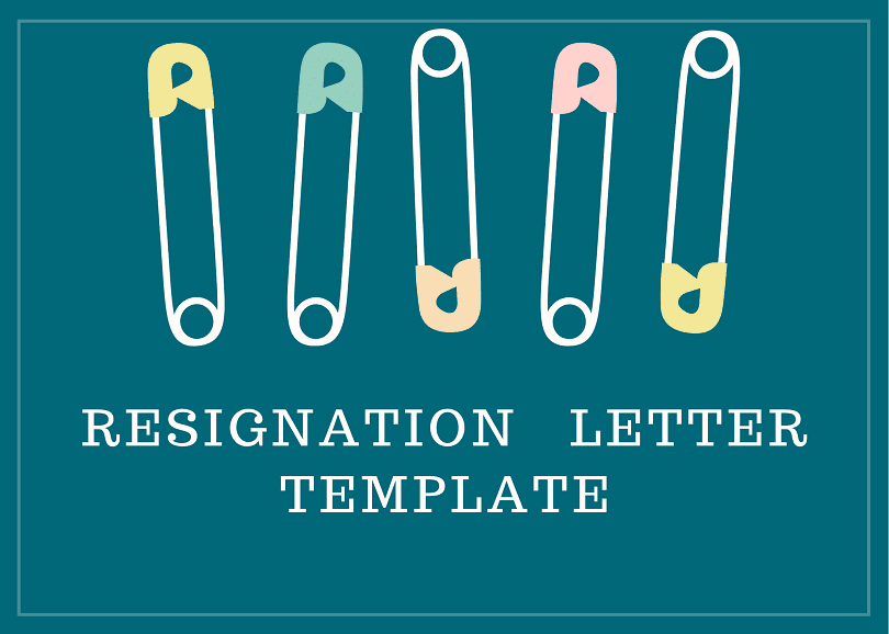 What is a Resignation Letter? Template and Example - Afidavit